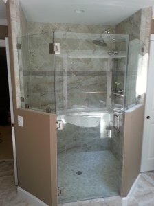 Shower Construction Work